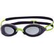 Zoggs Fusion Air Okulary pływackie Kobiety zielony/czarny